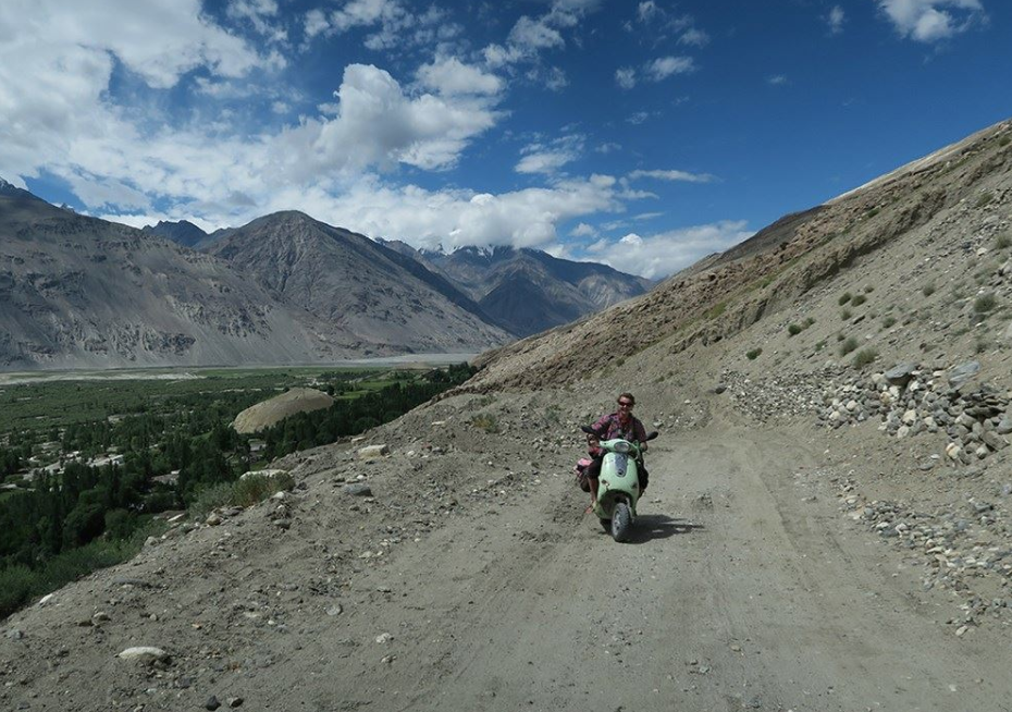 Gallery: Travelling the world on a Vespa