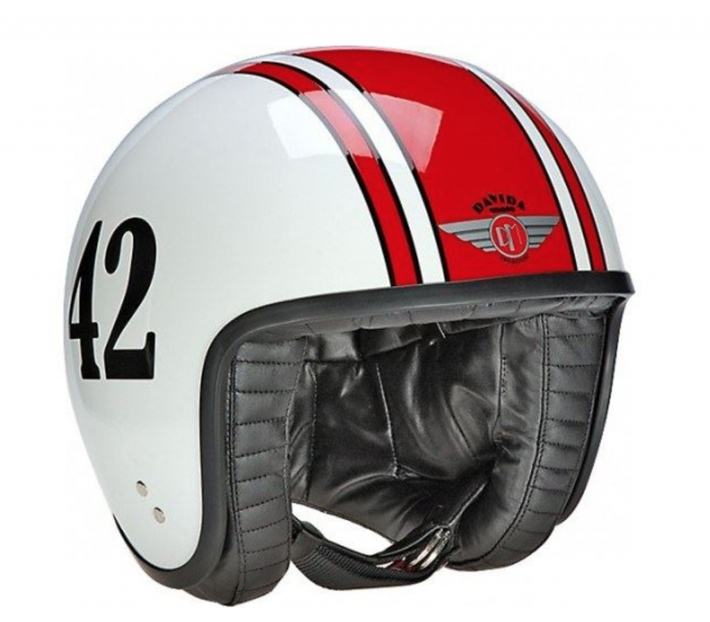 Open face helmets balance style with protection